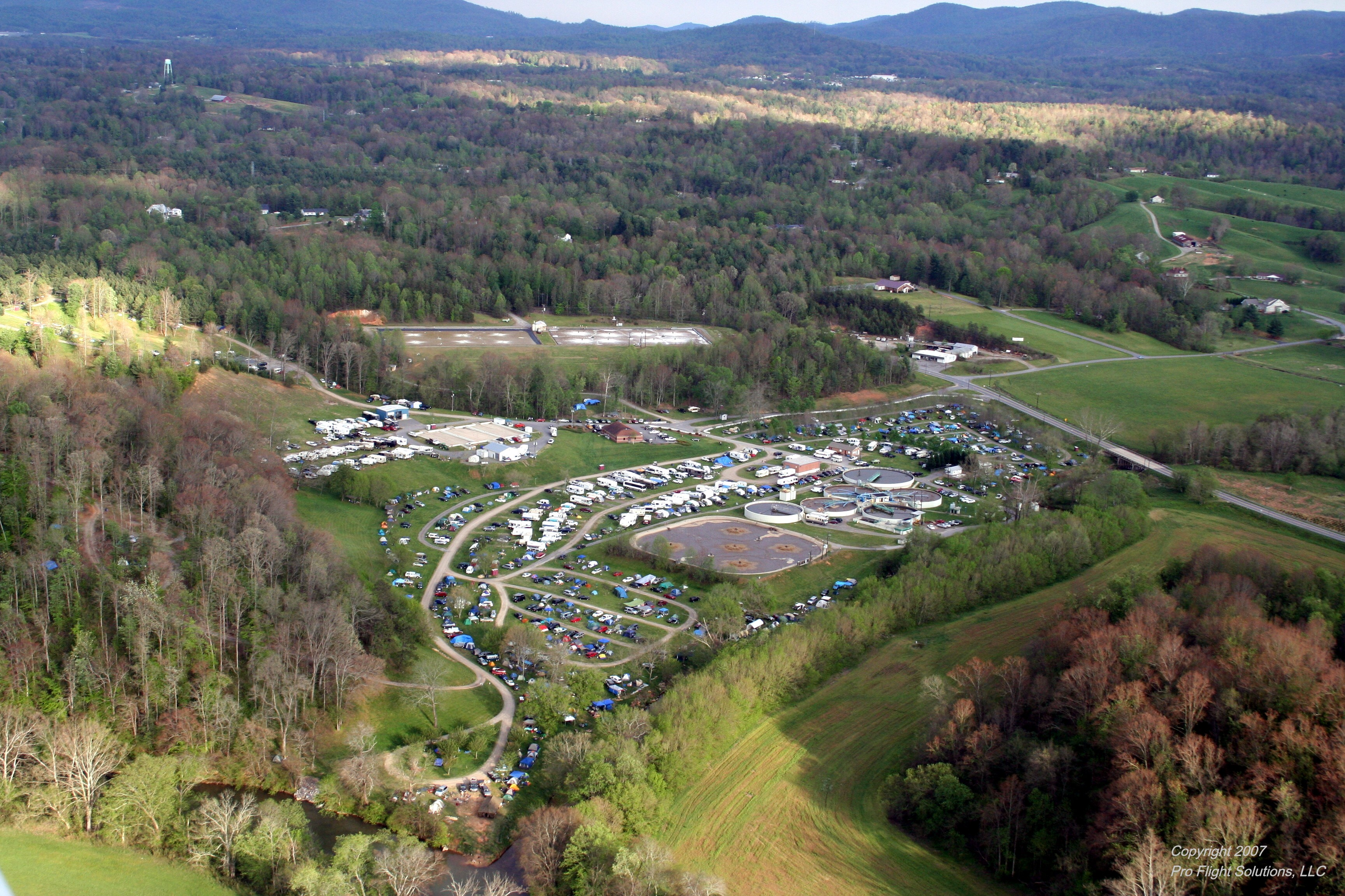 Sewerfest Camping - Image by ProFlight Solutions LLC