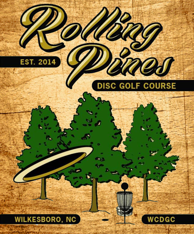Rolling Pines Disc Golf Course logo