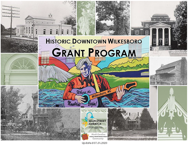 2020-2021 Downtown Grant Program Cover