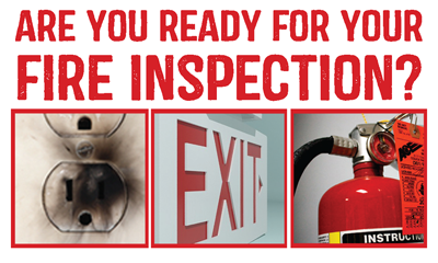 Are you ready for your next fire inspection?
