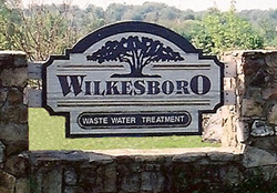 Wastewater Treatment sign