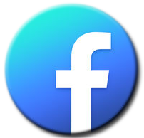 Facebook blue circle logo