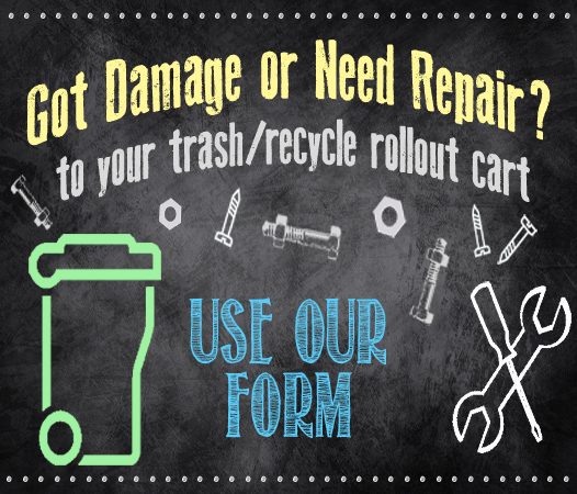 Got damage or Need repairs to your rollout cart?